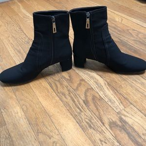 Prada fabric ankle boots
